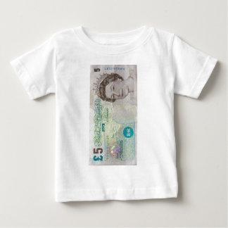 £5 note verticle tee shirt