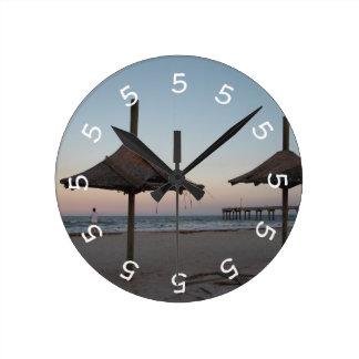5 o clock Beach Theme Wall Clock