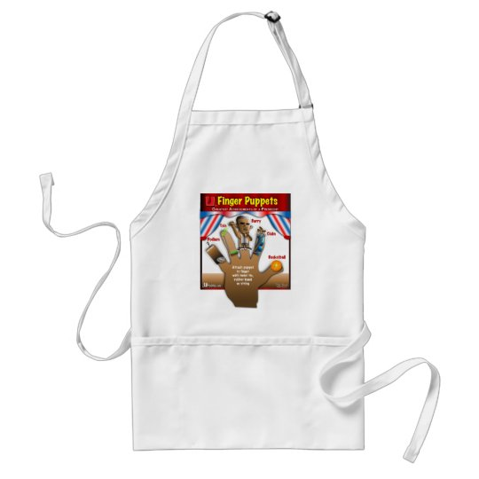 5 Obama Achievements Adult Apron