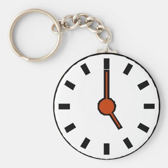 5 o'clock keychain
