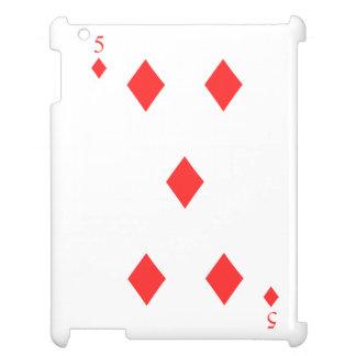 5 of Diamonds iPad Cases