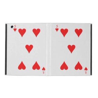 5 of Hearts iPad Cover