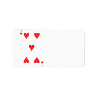 5 of Hearts Label