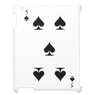 5 of Spades Case For The iPad 2 3 4