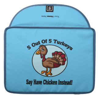 5 out of 5 Turkeys Design MacBook Pro Sleeve