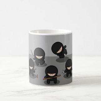 5 pequeños ninjas tazas