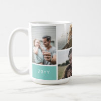 5 Photo Collage Coffee Mug