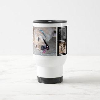5 Photo Collage | Cute Instagram Pet Photo Travel Travel Mug
