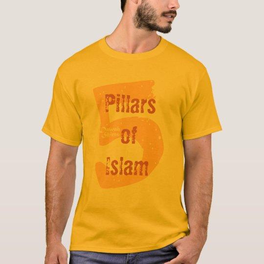 5 Pillars of Islam T-Shirt