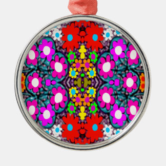 """5.PNG """" Pink Bred Meli """""""" Designs 2013 """""""" Gifts """"0 Metal Ornament"""