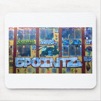 5 Pointz Graffiti Mouse Pad