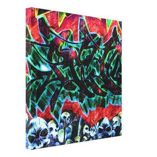 5 Pointz New York Skulls Graffiti Canvas Print