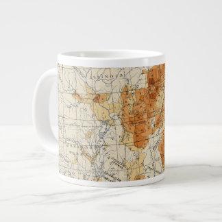 5 Population 1820 Large Coffee Mug