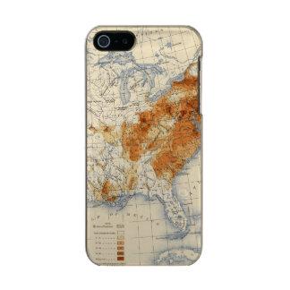 5 Population 1820 Metallic Phone Case For iPhone SE/5/5s