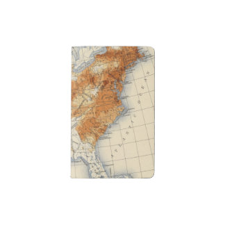 5 Population 1820 Pocket Moleskine Notebook