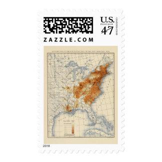 5 Population 1820 Stamp