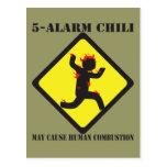 5 postales del chile de la alarma