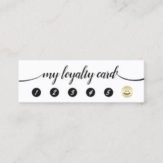 5 Punch Handwritten Calligraphy Loyalty