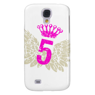 #5 Raspberry Wings Galaxy S4 Cover