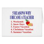 5 razones hice una tarjeta de felicitación diverti