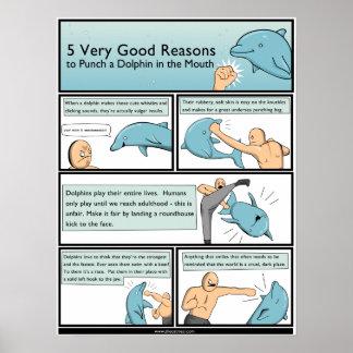 5 razones para perforar un delfín en la boca póster