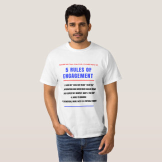 5 Rules for Engagement - Men's T-Shirt