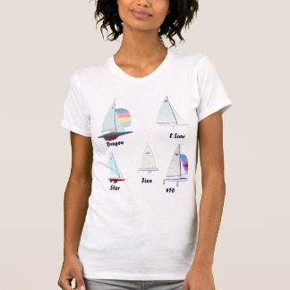 5 Sailboat Designs T Shirt