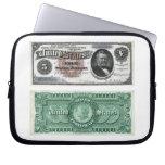 $5 series 1886 del certificado de plata del billet funda portátil