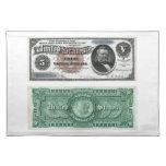 $5 series 1886 del certificado de plata del billet mantel individual