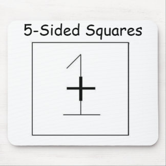 5-Sided Squares Official Mousepad