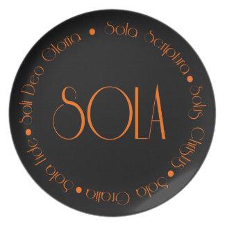5 Solas Dinner Plate