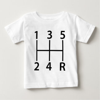 5 speed shift pattern baby T-Shirt