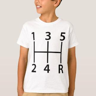 5 speed shift pattern T-Shirt