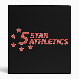 5 Star Athletics Binder