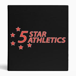 5 Star Athletics Binder