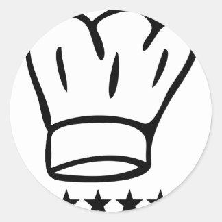 5 star chefhat stickers