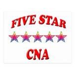 5 Star CNA Post Card