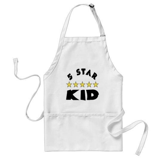 5 Star Kid Adult Apron