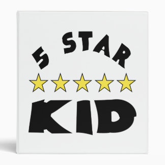 5 Star Kid Binder