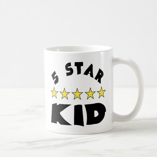 5 Star Kid Coffee Mug