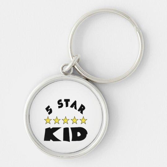 5 Star Kid Keychain