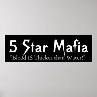 5 Star Mafia Poster