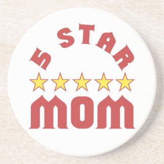 5 Star Mom Coaster