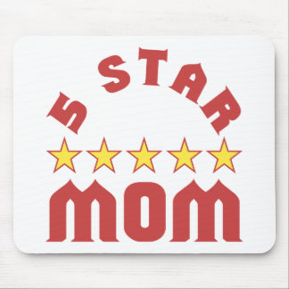 5 Star Mom Mouse Pad