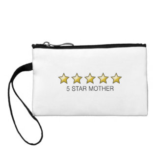 5 Star Mother - Mother's Day Gifts Change Purse