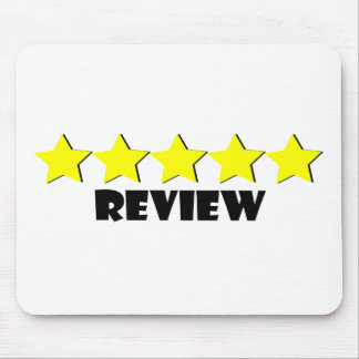 5 Star Review Mouse Pad