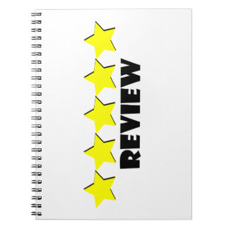 5 Star Review Spiral Notebook