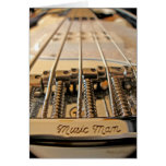 5 String Bass Greeting Card