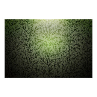 5 trees poster