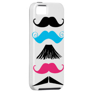 5 Trendy Mustaches iPhone 5 Barely Case